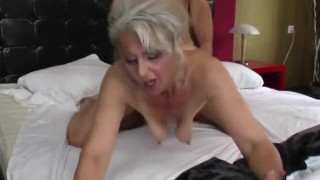 Dry Teen  : hot mature mother fucked by young not her son