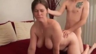 Dry Teen  : Mom Creampie Surprise