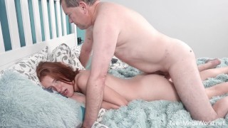 Dry Teen  : OldnYoung  Foxy Lee  Old cock inside fresh pussy