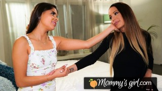 Dry Teen  : MommysGirl Squirt Madness With Katya Rodriguez And Her Stepmom
